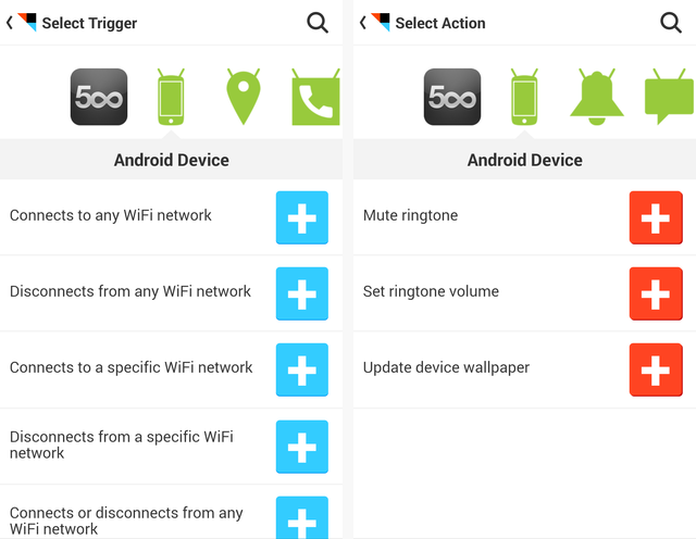 IFTTT - Android Device