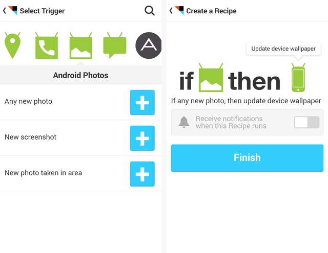 IFTTT Android Photos