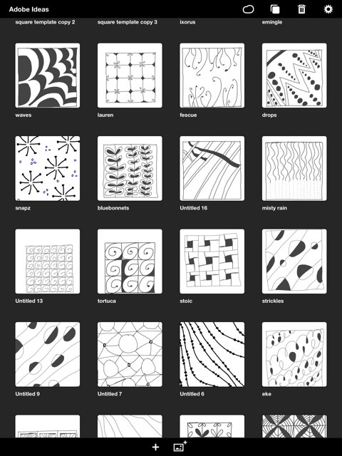 Discover the Art of Zentangle Drawings With Doodle Patterns for iOS Impressive Patterns To Draw