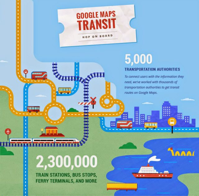 Google Maps Gets Injected With A Massive Dose Of UK Transport Data & Other Vital Stats MapsTransit InfographicSplit 1