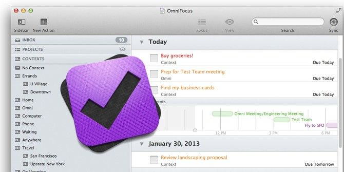 Getting Things Done, Better: The Redesigned OmniFocus 2 for Mac