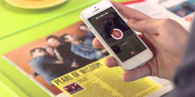 Shazam-Like App Peekster Bridges Gap Between Print and Digital Media