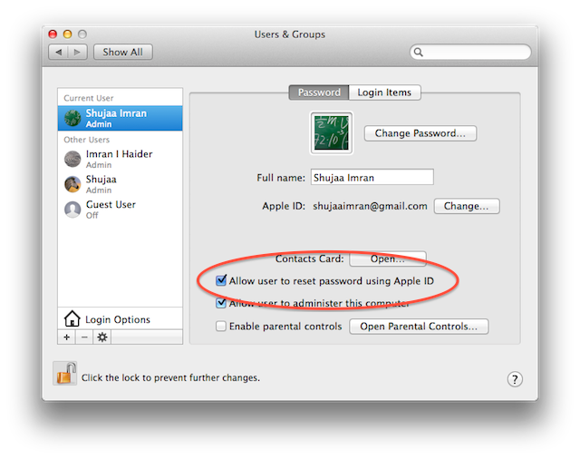 4 Ways To Reset Your OS X Account Password 45934e5f5