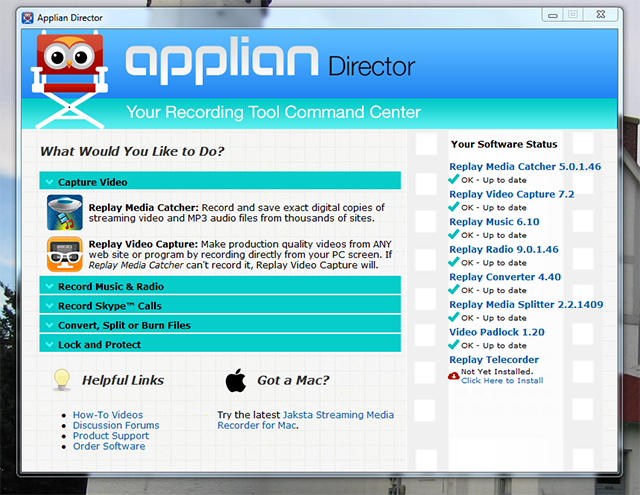 Save Videos From Any Site – Even Netflix – With Applian's Replay ... applian-director-all