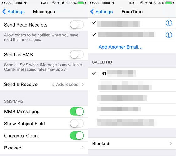 You Might Want To Change These Pesky Default iOS 7 Settings callerid
