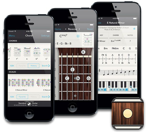 8 Great iOS Apps For Guitarists & Bassists chord