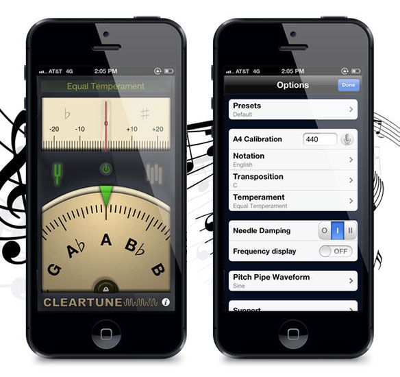 8 Great iOS Apps For Guitarists & Bassists cleartune