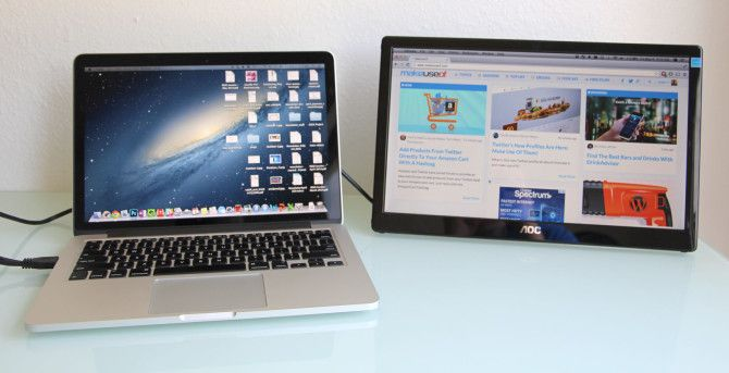 AOC 16″ USB Monitor Review and Giveaway