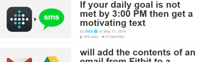 IFTTT Introduces The eBay & Fitbit Channels fitbitifttt 640x203