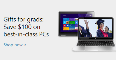 gifts for grads via microsoft store