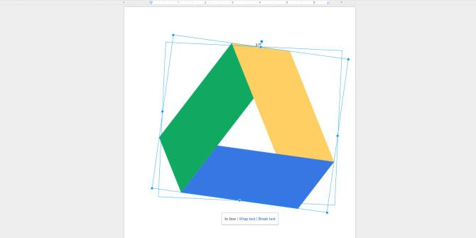 Google Docs Adds Basic Image Editing With Crop & Rotate