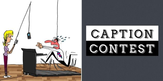 Caption Contest: No I'm Not Addicted