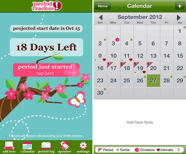 The 4 Best Period Tracker Apps For Ios Android
