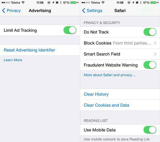 You Might Want To Change These Pesky Default iOS 7 Settings privacy