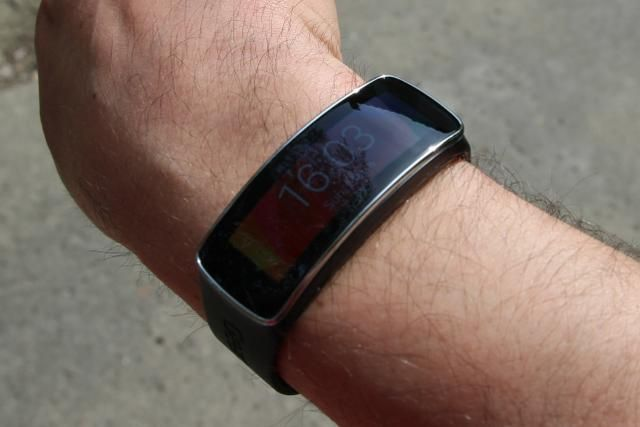 samsung galaxy fit direct sunlight