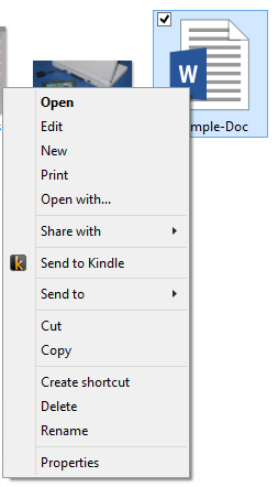 send-to-kindle-right-click-menu