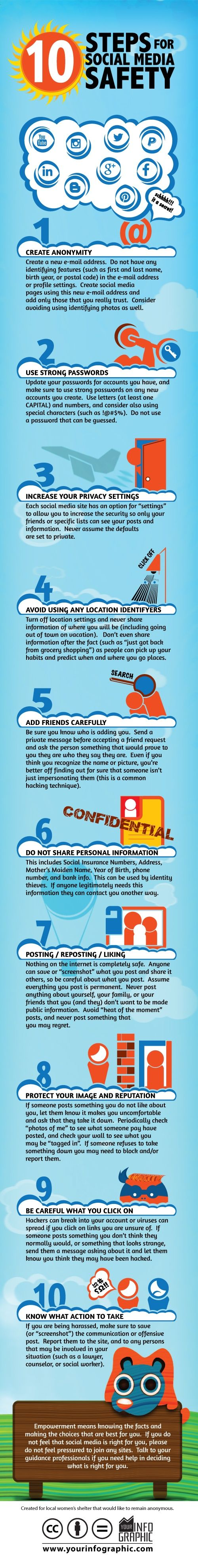 10 Simple Steps To Staying Safe On Social Networks social media safety
