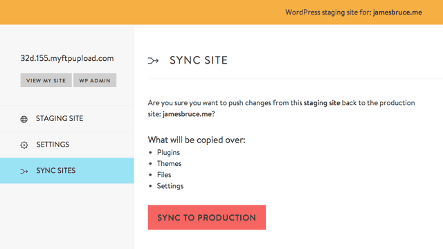 sync-to-production
