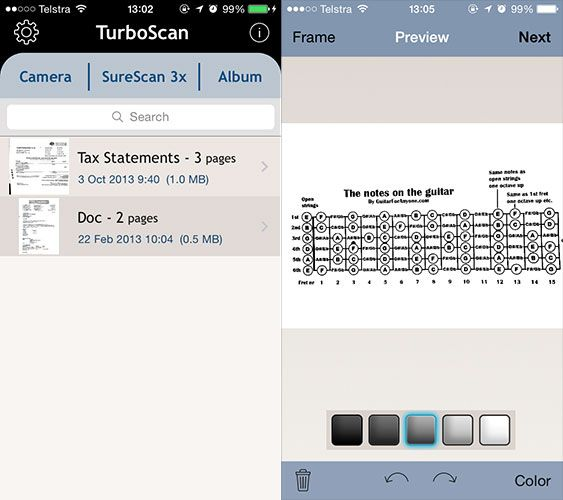 Scan & Manage Your Receipts, Save Space, Paper & Time turboscan