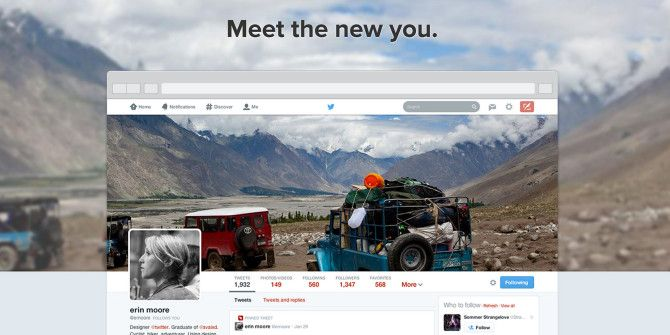 Twitter's New Profiles Are Here: Make Use Of Them!