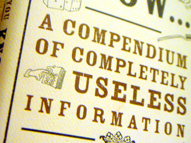 useless-information