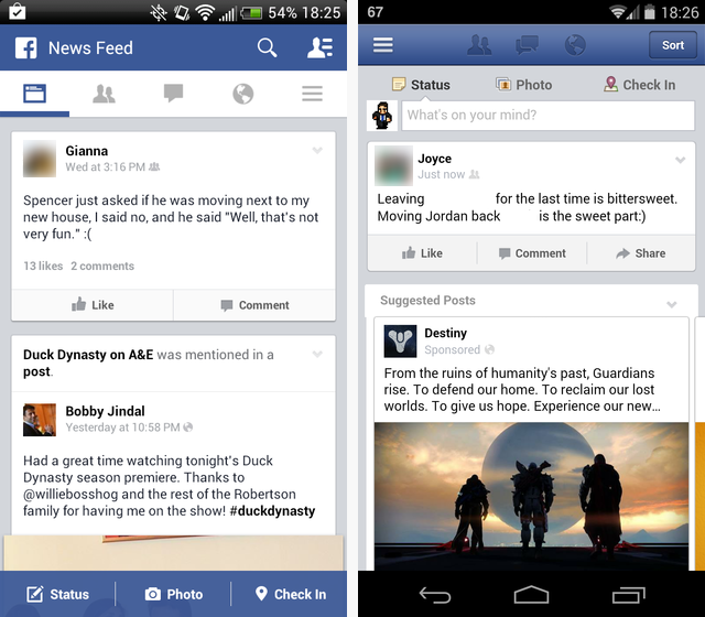 Tinfoil News Feed Comparison