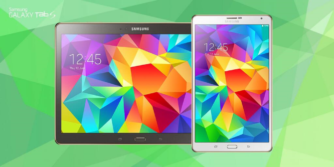 Samsung Introduces New Galaxy Tab S Line With Super AMOLED Displays