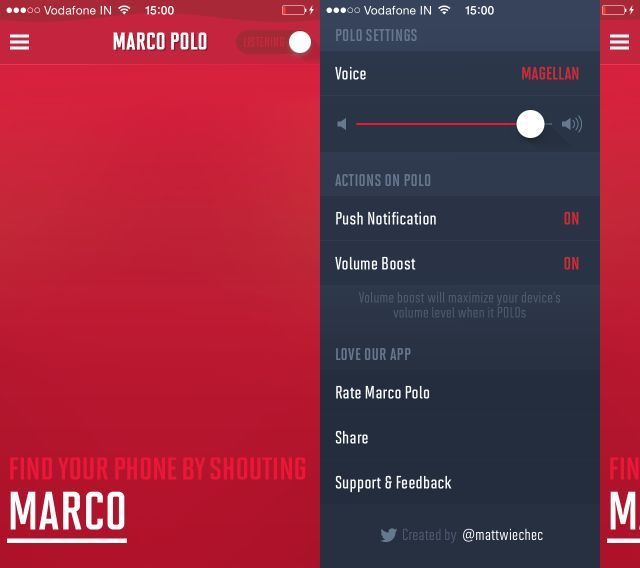 Marco-polo-main-screen-options