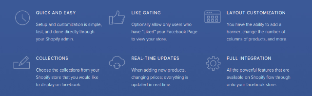 Shopify-Facebook-Features