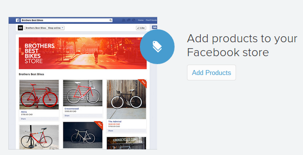 Shopify-Facebook-Products