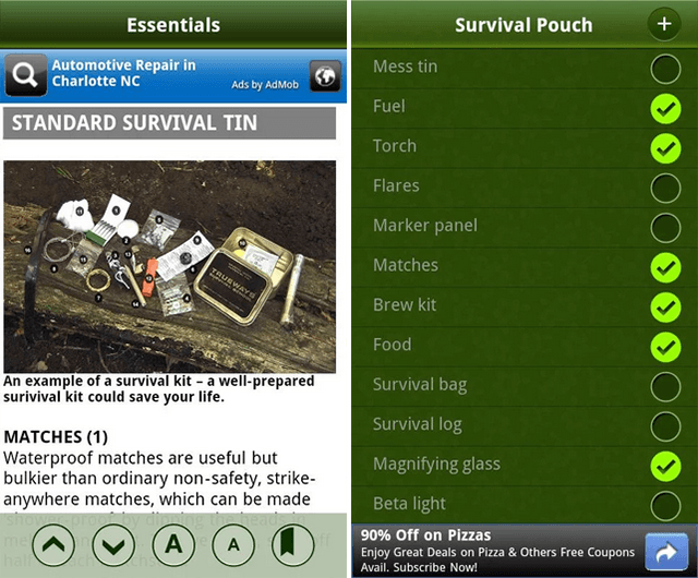 android-hiking-survival-guide