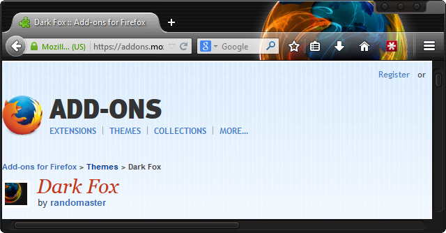 dark-theme-for-firefox