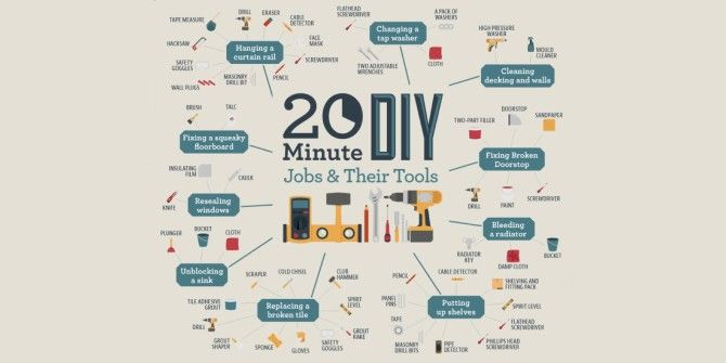 Got 20 Minutes? Here are 10 DIY Jobs You Can Squeeze In