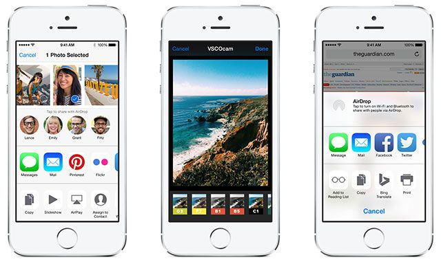 What's New In iOS 8? extensibility