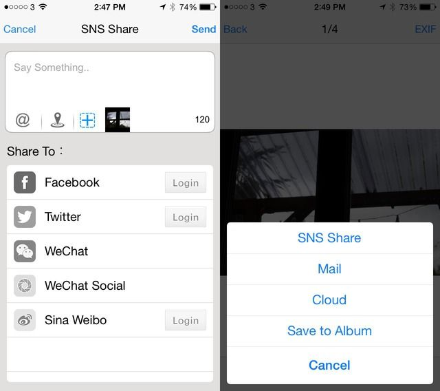 ezshare convoluted share actions