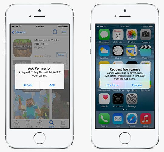 What's New In iOS 8? familysharing