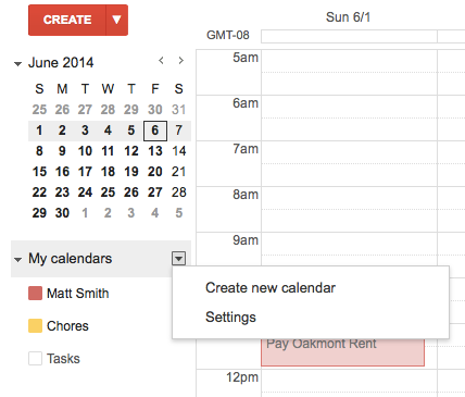 How to Sync Your Google Calendar Appointments With Windows 8 googlecalendar2