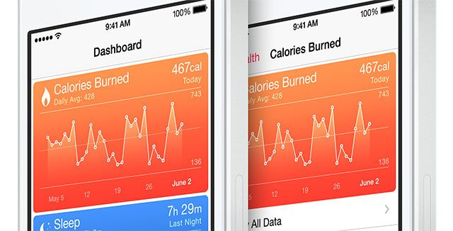 What's New In iOS 8? health