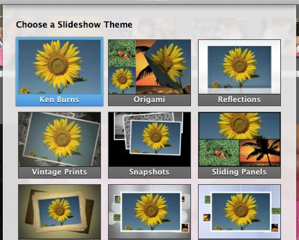 How to create awesome slideshow presentations in imovie photo preparation maxwellsz