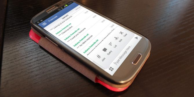 Chatting On Android: The 4 Best IRC Client Apps