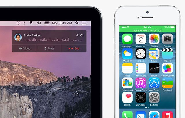 What's New In iOS 8? mac call