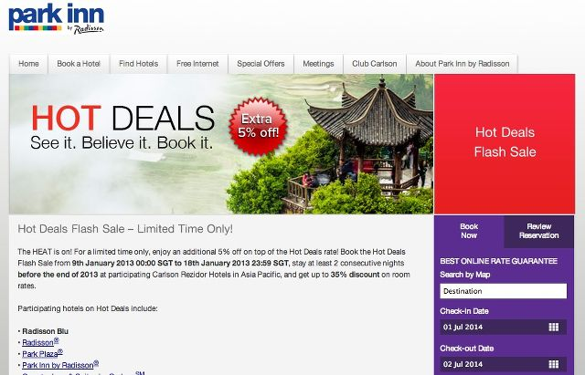park-inn-hot-deals