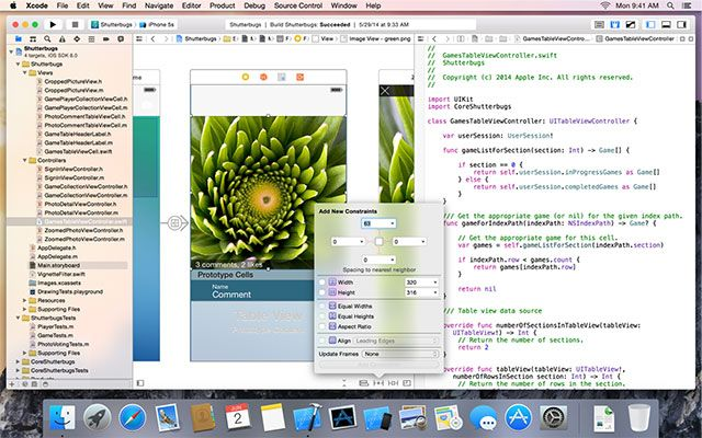 "What's New In OS X 10.10 ""Yosemite""? xcode6"