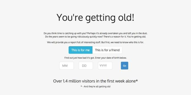 How To Generate A Full Report On How Old You Are