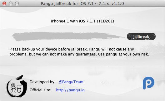 How To Jailbreak iOS 7.1.x & Install Cydia With Pangu 1