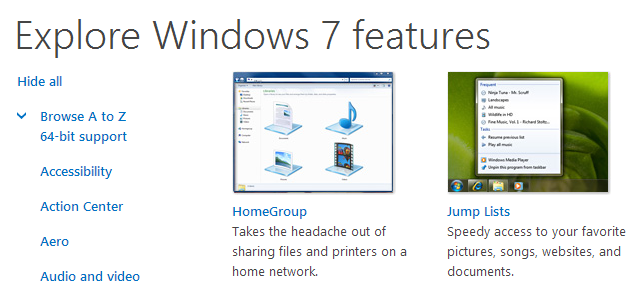 Explore Windows 7