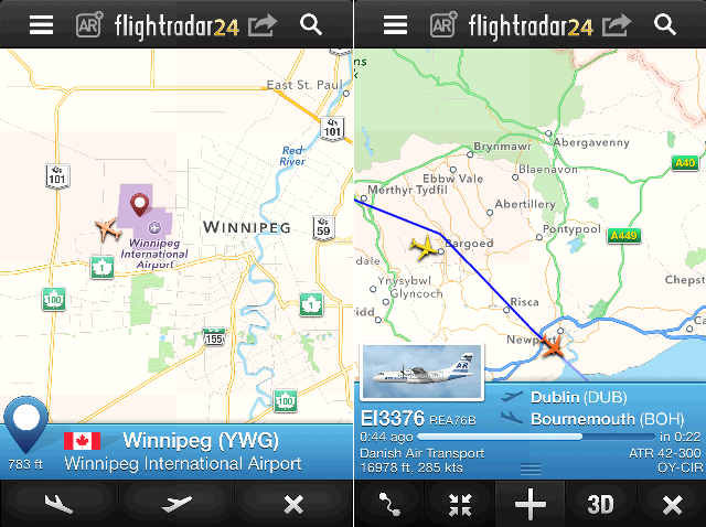 Flight Radar 3
