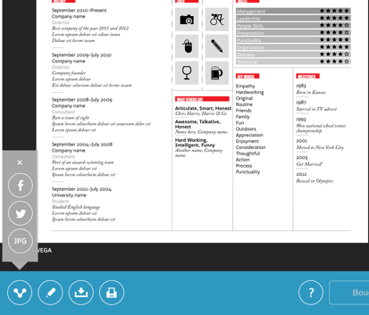 Create Stylish Resumes Cvs On The Ipad No Formatting Required