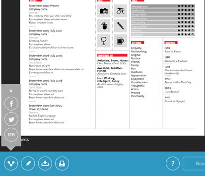 create stylish resumes cvs on the ipad no formatting required
