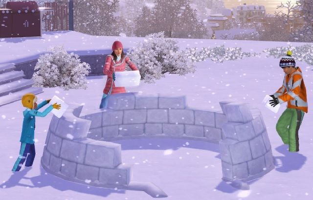 How to Make The Sims More Interesting With Custom Content Sims 3 Snow